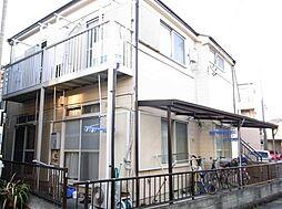 埼玉県草加市手代町の賃貸アパートの外観