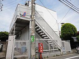 東京都世田谷区若林2丁目の賃貸アパートの外観
