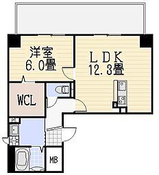 ソラーレ[4階]の間取り