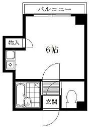 シャトー蒲田7 bt[2階]の間取り