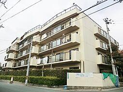 兵庫県伊丹市大鹿1丁目の賃貸マンションの外観