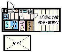 埼玉県さいたま市大宮区高鼻町3丁目の賃貸アパートの間取り