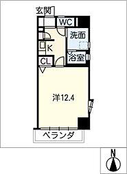 SUNVICC大曽根[6階]の間取り