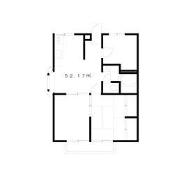 エステートピアラフォーレA[2階]の間取り