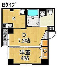 HYU charmant[2階]の間取り