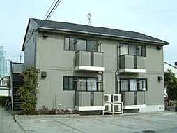 愛知県あま市甚目寺沖田の賃貸アパートの外観