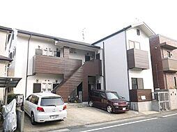 福岡県福岡市中央区福浜1丁目の賃貸アパートの外観