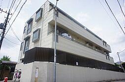 千葉県市川市八幡3丁目の賃貸マンションの外観