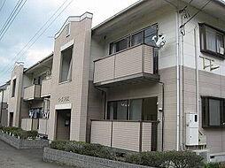静岡県三島市佐野の賃貸アパートの外観