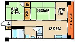 生頼第1ビル[4階]の間取り