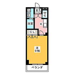 サンハイム立込[2階]の間取り