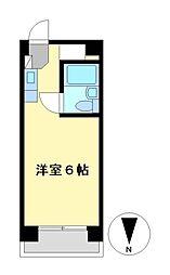 プレスイン正木[3階]の間取り