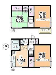 [一戸建] 埼玉県坂戸市泉町2丁目 の賃貸【/】の間取り