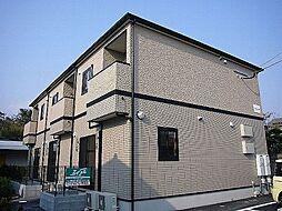 福岡県糟屋郡粕屋町大字仲原の賃貸アパートの外観