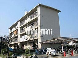 水戸田マンション B棟[4階]の外観
