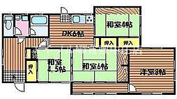 [一戸建] 岡山県岡山市北区延友丁目なし の賃貸【/】の間取り