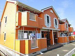 神奈川県平塚市山下の賃貸アパートの外観