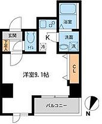 アテッサ吉野町[603号室]の間取り