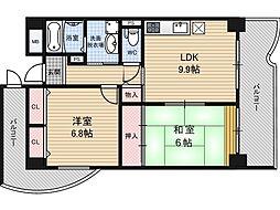 エスパシオ21[3階]の間取り