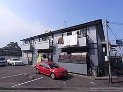 兵庫県明石市野々上1丁目の賃貸アパートの外観