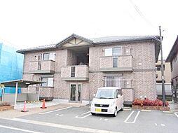 広島県東広島市西条町御園宇の賃貸アパートの外観