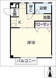 エクセル太平I・II[2階]の間取り