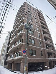 北海道札幌市中央区北六条西26丁目の賃貸マンションの外観