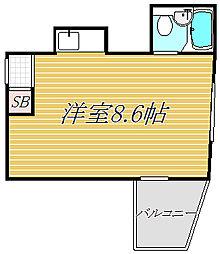 ウィン池袋[9階]の間取り