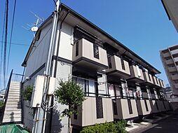 大阪府四條畷市大字中野の賃貸アパートの外観