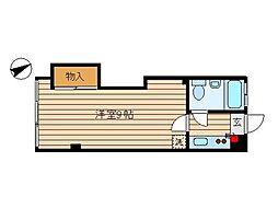 東京都大田区山王6丁目の賃貸マンションの間取り