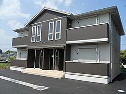 茨城県日立市東滑川町1丁目の賃貸アパートの外観
