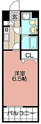 ラセット博多[402号室]の間取り