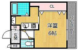 エクスペリエンス[2階]の間取り