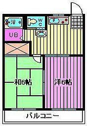遠藤アパート[101号室]の間取り