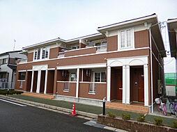 三重県津市高茶屋4の賃貸アパートの外観