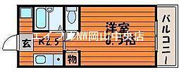 サンライト津島I号館[3階]の間取り