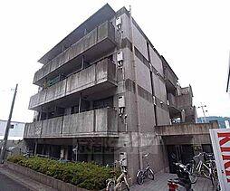 京都府京都市山科区勧修寺東金ケ崎の賃貸マンションの外観