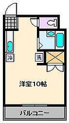 東京都足立区西新井本町1丁目の賃貸マンションの間取り