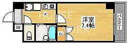 Sakura Residence[506号室号室]の間取り