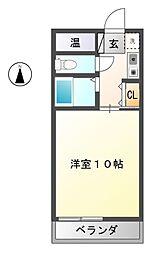 アビタシオンSEI[2階]の間取り