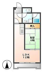 新栄第7ロイヤルマンション[6階]の間取り