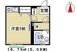 桜台コートハウス[3階]の間取り
