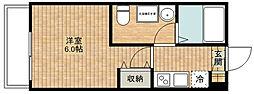 CASAR武蔵新城[303号室]の間取り