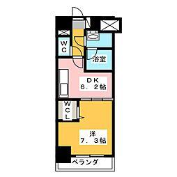 MY COSMOS[2階]の間取り