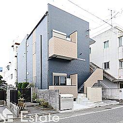 愛知県名古屋市中村区上石川町2丁目の賃貸アパートの外観