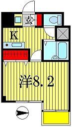 日創・北小金マンション[7階]の間取り
