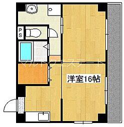 ゆかマンション[4階]の間取り