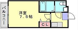 アビタウノ春日[2階]の間取り