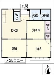 フィールドハウス[1階]の間取り
