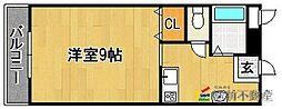 ピュアハウス[103号室]の間取り
